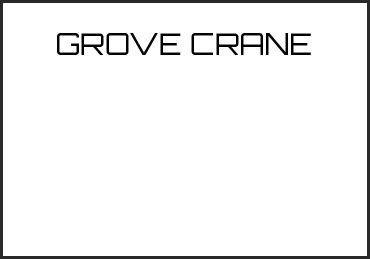 Picture for category GROVE CRANE