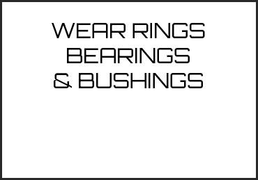Picture for category WEAR RINGS BEARINGS & BUSHINGS