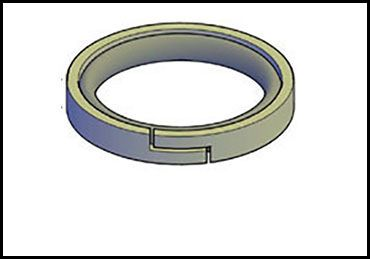 Picture for category CAT PISTON SEAL 2-PC NYLON
