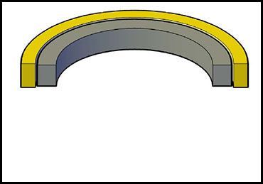 Picture for category CAT PISTON SEAL 2-PC URETHANE