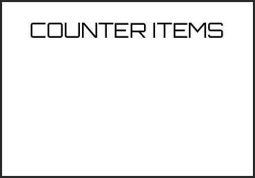 Picture for category COUNTER ITEMS