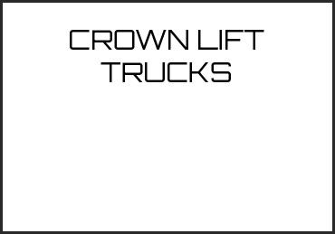 Picture for category CROWN LIFT TRUCKS