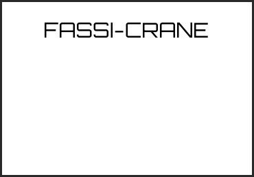 Picture for category FASSI-CRANE