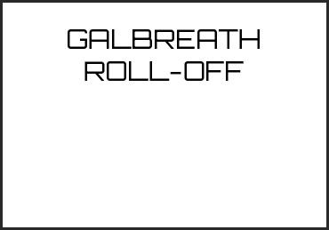 Picture for category GALBREATH ROLL-OFF