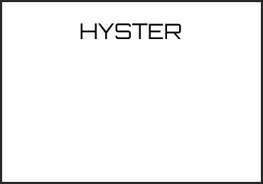 Picture for category HYSTER