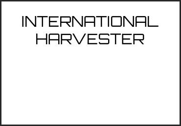 Picture for category INTERNATIONAL HARVESTER