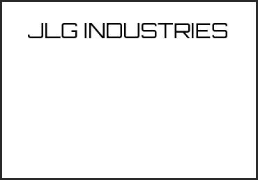 Picture for category JLG INDUSTRIES