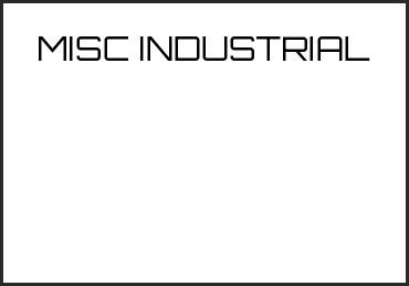 Picture for category MISC INDUSTRIAL