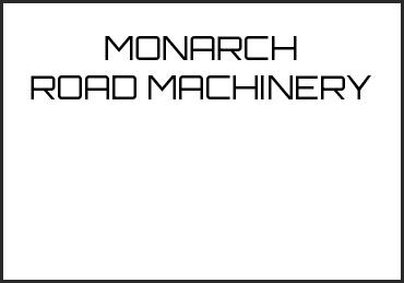 Picture for category MONARCH ROAD MACHINERY