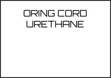 Picture for category ORING CORD URETHANE