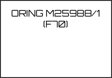 Picture for category ORING M25988/1 (F70)