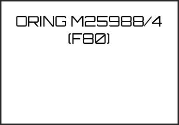 Picture for category ORING M25988/4 (F80)
