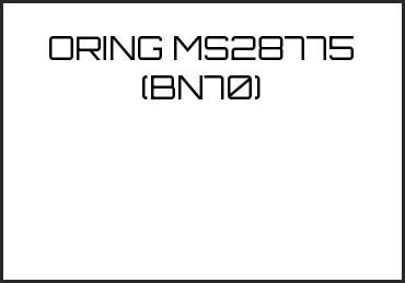 Picture for category ORING MS28775 (BN70)