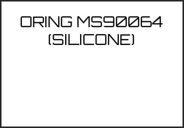 Picture for category ORING MS90064 (SILICONE)