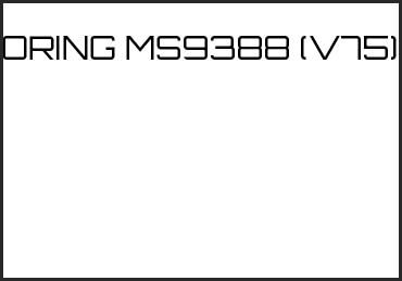 Picture for category ORING MS9388 (V75)