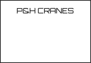 Picture for category P&H CRANES