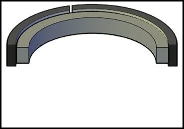 Picture for category PISTON SEAL PS2000 NYLON
