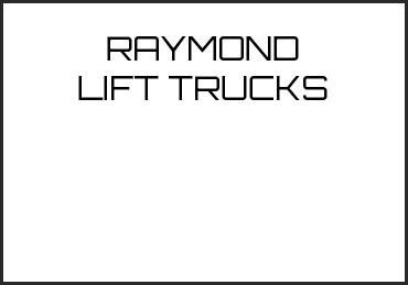 Picture for category RAYMOND LIFT TRUCKS