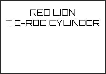 Picture for category RED LION TIE-ROD CYLINDER