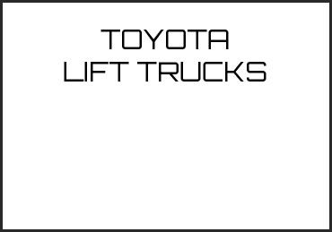 Picture for category TOYOTA LIFT TRUCKS