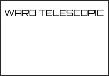 Picture for category WARD TELESCOPIC