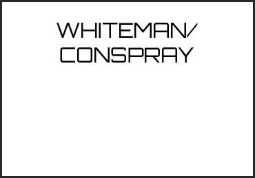 Picture for category WHITEMAN/CONSPRAY