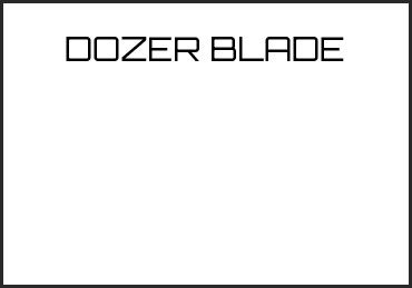 Picture for category DOZER BLADE