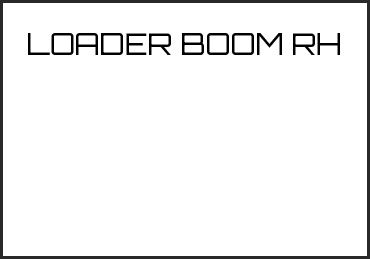 Picture for category LOADER BOOM RH