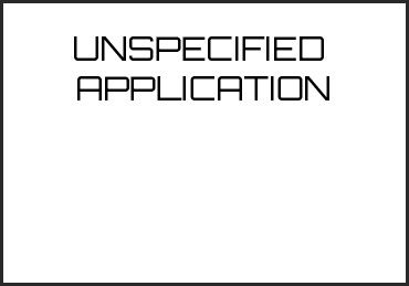 Picture for category UNSPECIFIED  APPLICATION