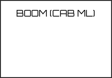 Picture for category BOOM (CAB ML)