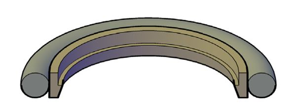 Picture of ROD BUFFER SEAL INCH